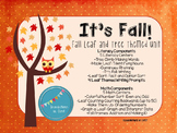 It's Fall Math and Literacy Unit