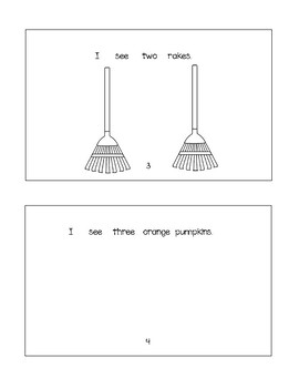 It's Fall - Booklet + Worksheet