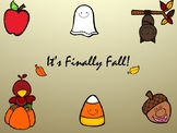 It's Finally Fall! Short Story with Reader Questions