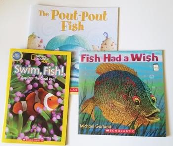 It's Fishy Take Home Literacy & Math Bag