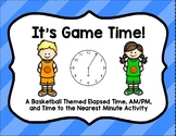 It's Game Time- Time to Nearest Minute Task Cards