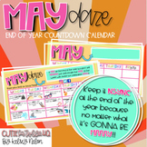 It's Gonna Be MAY {Editable} Countdown Calendar!!
