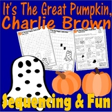 It's Great Pumpkin Charlie Brown Halloween : Word Search &