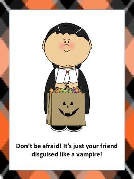 It's Halloween! Don't Be Afraid!