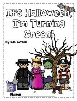 It's Halloween, I'm Turning Green Novel Study
