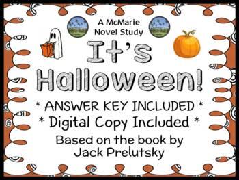It's Halloween (Jack Prelutsky) Book Study / Reading Comprehension Unit