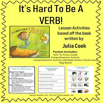 It's Hard To Be A Verb - A lesson on how to focus!