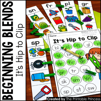 Beginning Blends: It's Hip to Clip