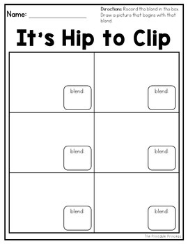 Beginning Blends: It's Hip to Clip