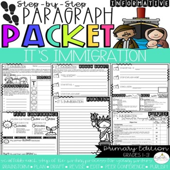 It's Immigration! Paragraph Packet (Core Knowledge, CKLA)
