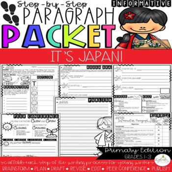 It's Japan! Paragraph Packet (Core Knowledge, CKLA)
