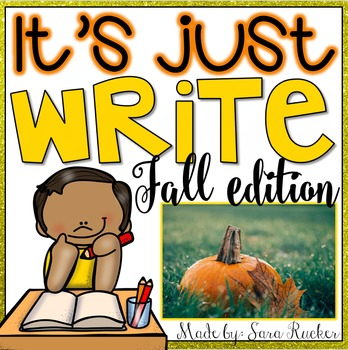 It's Just WRITE {Fall Edition}