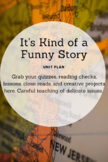 It's Kind of a Funny Story Complete Unit