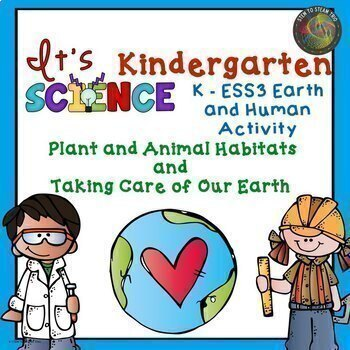 It's Kindergarten Science!  Bundle of NGSS Units for the Whole Year!