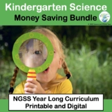 Kindergarten Science Bundle of NGSS Units for the Year Now