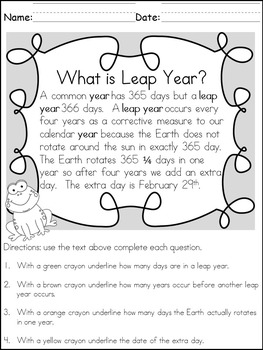 It's Leap Year/Leap Day!