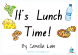 It's Lunch Time! - Printable interactive short story book