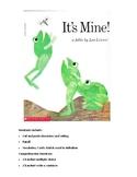 Book Companion: Leo Lionni: It's Mine