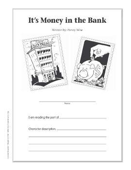 It's Money in the Bank (Leveled Readers' Theater, Grade 6+)
