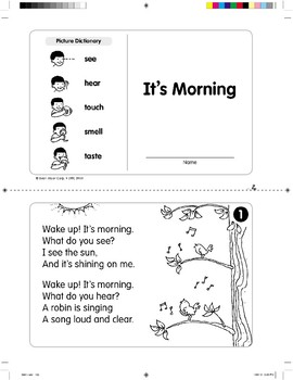 It's Morning (Level G)