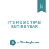 It's Music Time! An Entire Year Curriculum for Kindergarten