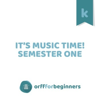 It's Music Time! Semester One for Kindergarteners