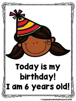 It's My Birthday (A Sight Word Emergent Reader)