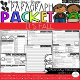 It's My Favorite Fall Activity! Opinion Step-Up Paragraph Packet