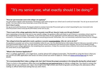 It's My Senior Year-