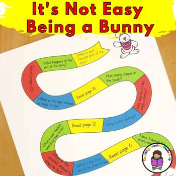 Literacy Activity Fun Pack to go with It's Not Easy Being A Bunny