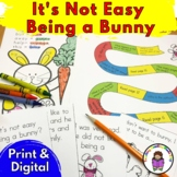 It's Not Easy Being A Bunny  - Worksheets, Digital Classro