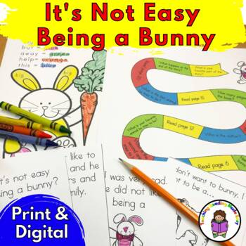 It's Not Easy Being A Bunny Literacy Activity Fun Pack