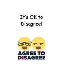 It's OK to Disagree Social Story
