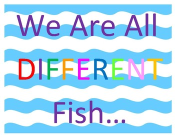 It's Ok to be Different Bulletin Board (No Prep)