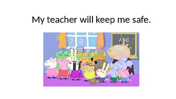 It's Okay! A Peppa Pig Social Story.