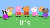It's Okay! A Peppa Pig Social Story.