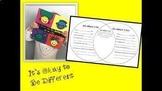 It's Okay to Be Different Activity- Venn diagram of Simila