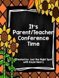It's Parent/Teacher Conference Time *Freebie