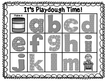 It's Playdough Time! - a sensory word work experience