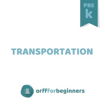 It's Preschool Time: Transportation