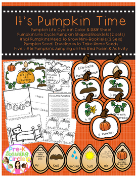 It's Pumpkin Time(Pumpkin Life Cycle & More)