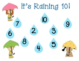 It's Raining 10 Math Game