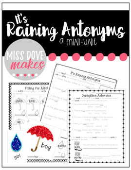 It's Raining Antonyms