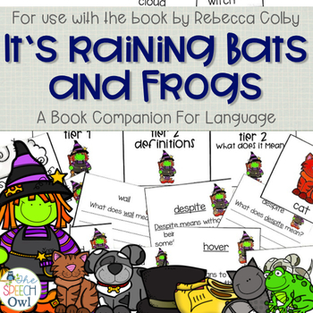 It's Raining Bats and Frogs : A Book Companion For Language