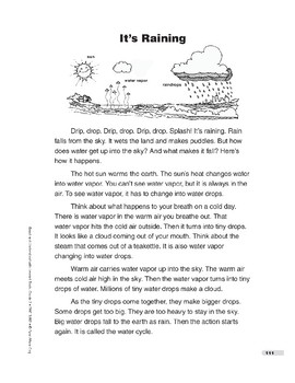 It's Raining (Lexile 430)