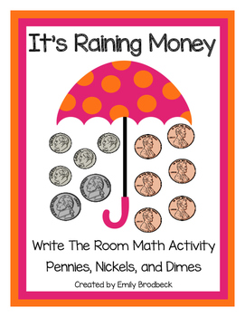 It's Raining Money- Mixed Coins Write the Room