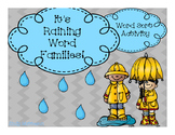 It's Raining Word Families- BUNDLE