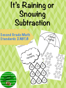 It's Raining or Snowing Subtraction!