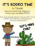 It's Rodeo time in Texas - Chili recipe and taste test