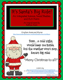 It's Santa's Big Ride (An Integrated Christmas Poem with Science and ELA)